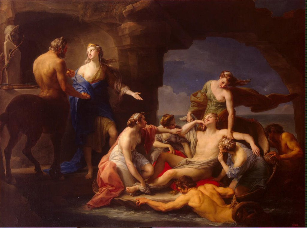 Batoni_Pompeo-ZZZ-Thetis_Takes_Achilles_from_the_Centaur_Chiron