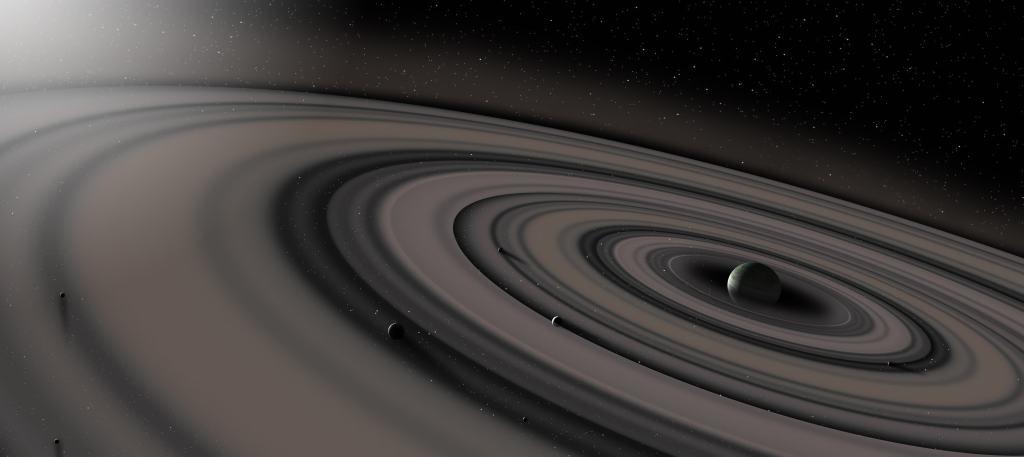 kosmos saturn planeta gazovyy gigant kolca asteroidy poyas sputniki zvezdy prostranstvo 5252x2344 1024x457 - Возвращение Сатурна