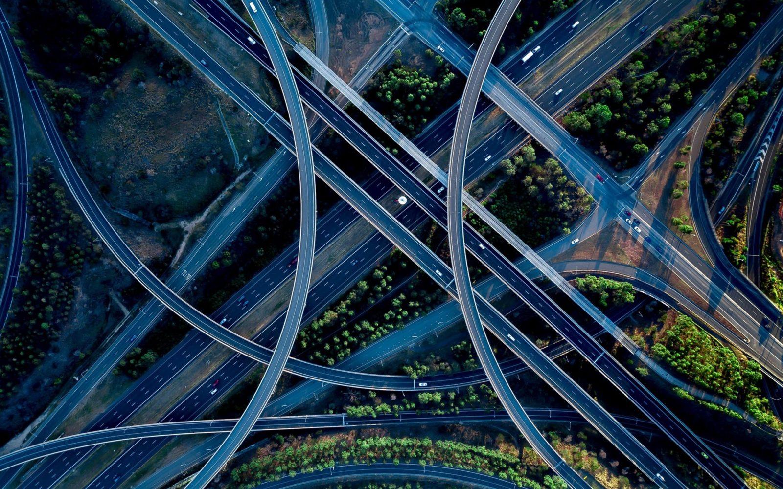 Top view crossroads roads overpass 1920x1200 - Затмения. Теоретические основы и эзотерические смыслы