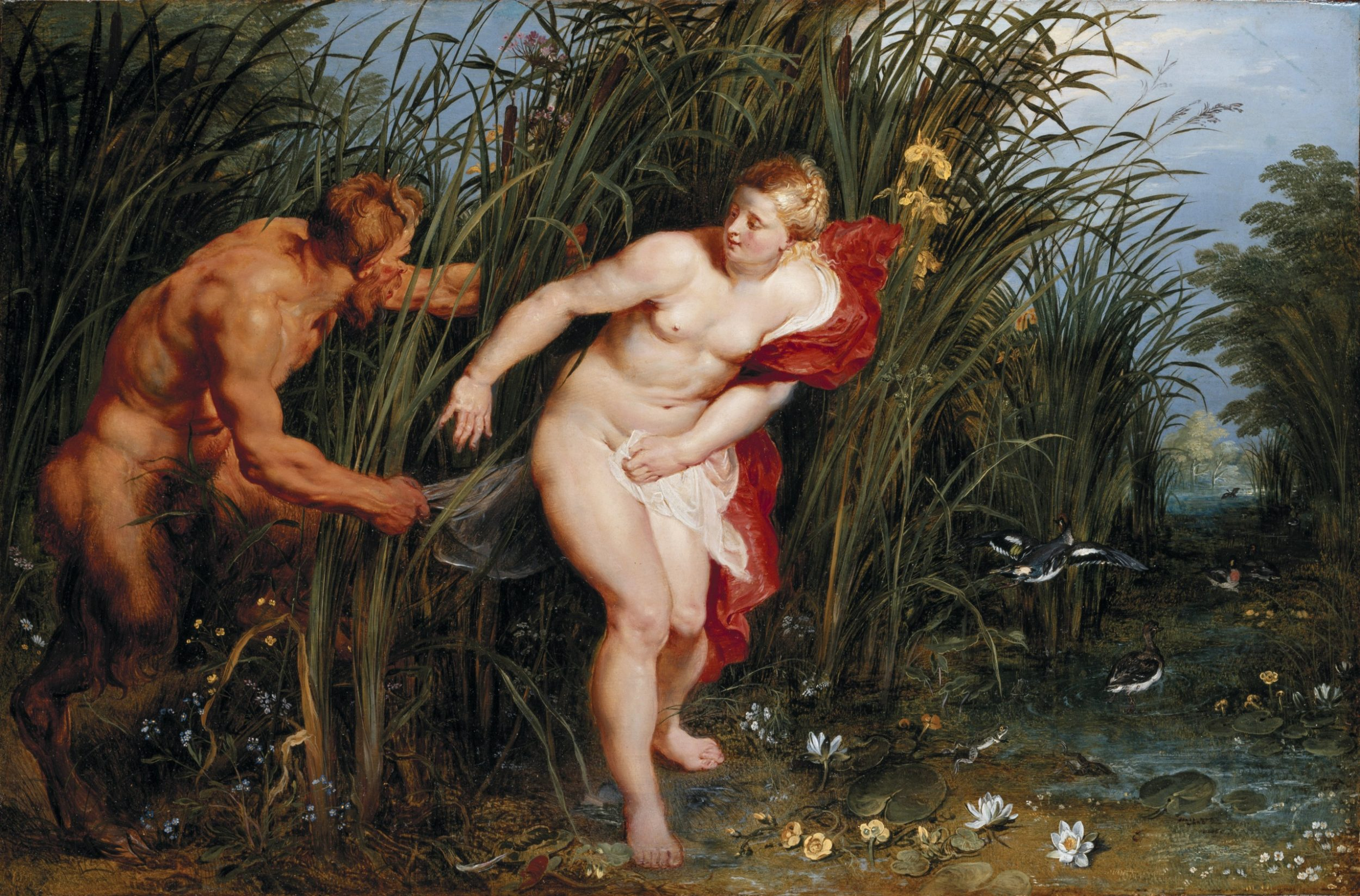 pictorial art pieter paul rubens pan and syrinx 536650 2560x1687 2500x1647 - Аспекты Венера —  Нептун